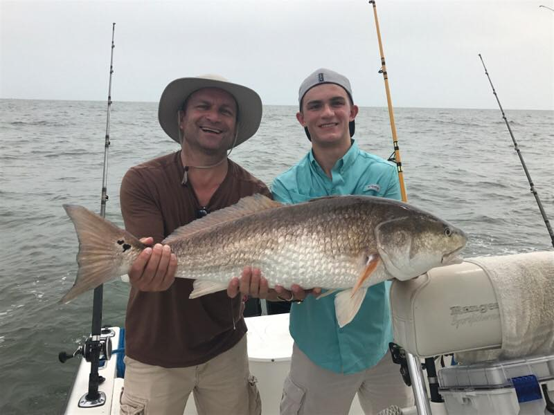 April Fishing in Galveston TX