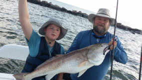 Fall Fishing Charter in Galveston TX